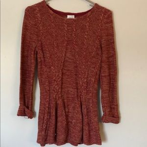 Babydoll fit sweater